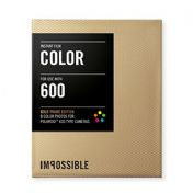 Impossible Project 600 Gold Frame
